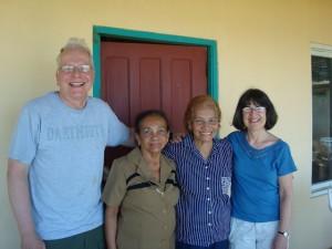 """Carol (""""Carolina"""") y Sherwood (""""Miguel"""") Guernsey, los fundadores del Fondo para el desarrollo del mundo nuevo"""